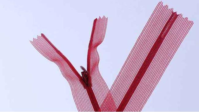 红顺叶-蕾边隐形拉链
