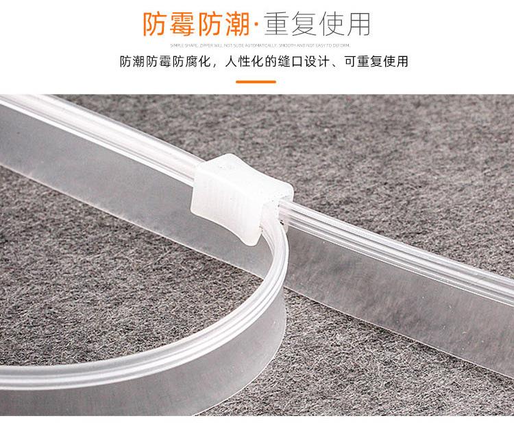 PVC/EVA/TPU轨道拉链2