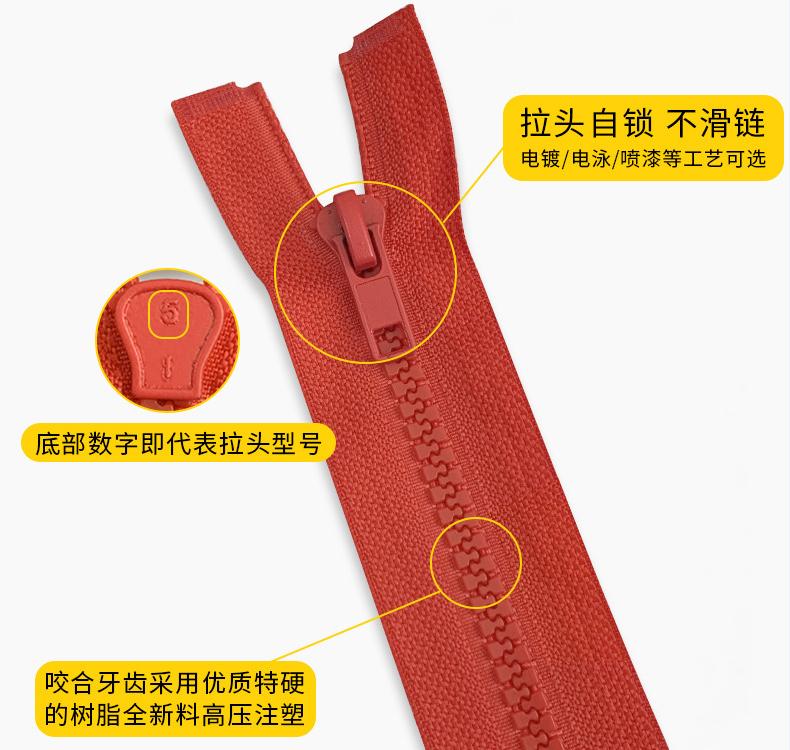 树脂拉链产品介绍配图3