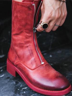 红顺叶鞋靴拉链