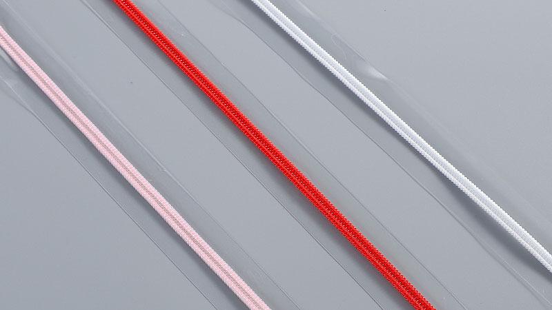 红顺叶-透明边尼龙拉链1
